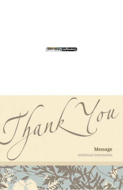 Thankyou_3 Greeting Card (4x55)